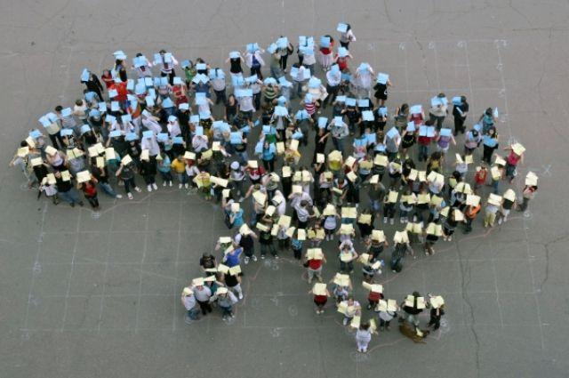 Количество украинцев сократилось до 35-ти миллионов