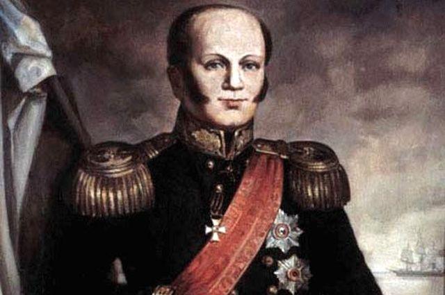 Вице-адмирал Дмитрий Сенявин.