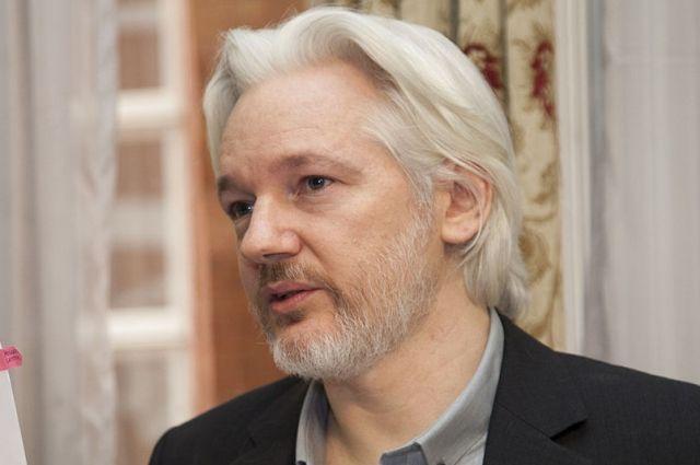 Ассанж опроверг утверждения о сотрудничестве WikiLeaks и России