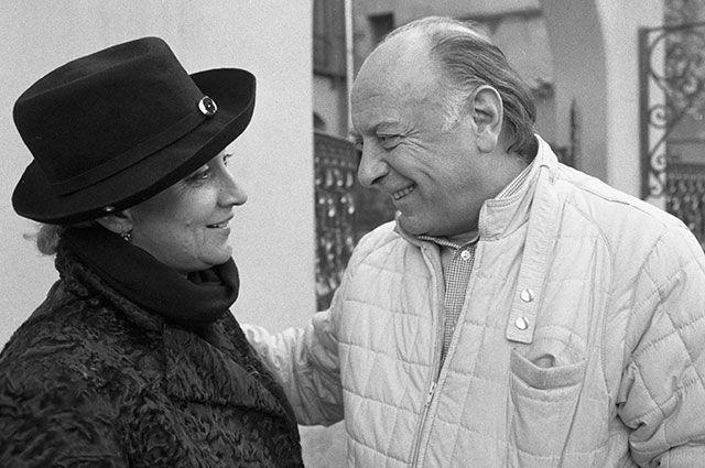 Софико Чиаурели и Котэ Махарадзе, 1983 г.