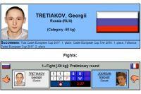 Тобольский спортсмен занял первое место на Кубке Европы по дзюдо