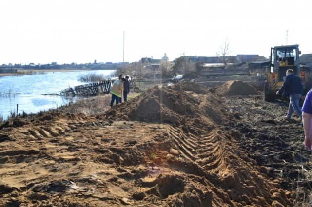 Пик паводка ожидается в районе села Викулово