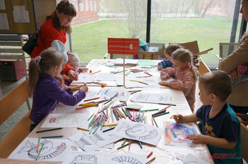 Для детей провели множество мастер-классов.