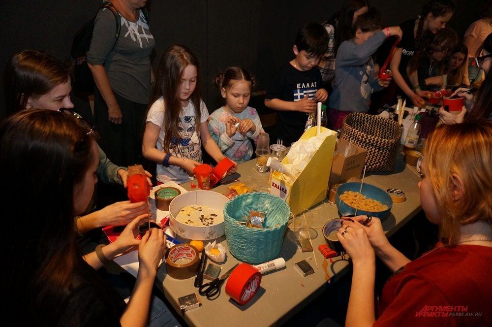Дети поучаствовали в творческих мастер-классах.