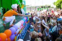 Во время программы юных зрителей ждут тематические игры и конкурсы и состоится традиционный розыгрыш годового запаса мороженого.