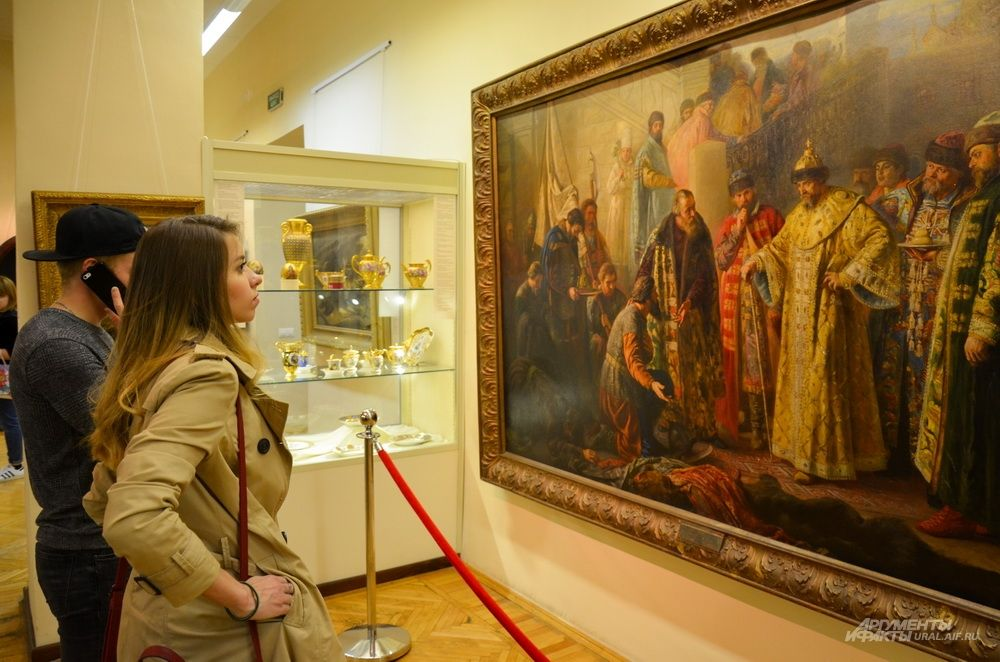 «Ночь музеев» в Екатеринбургском музее изобразительных искусств.