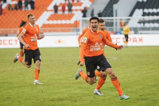 «Урал» проиграл «Уфе» завершающий матч сезона сосчётом 0:1