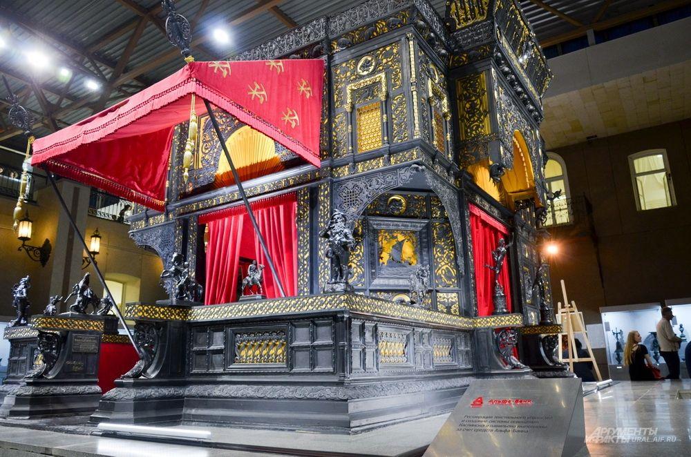Каслинский павильон в Екатеринбургском музее изобразительных искусств.