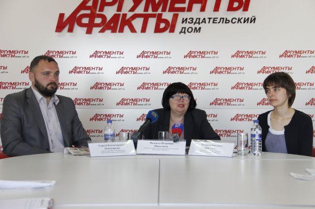 Сергей Пономаренко, Надежда Николаева и Надежда Николенко