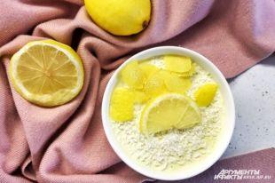 Рецепт диетического лимонного суфле