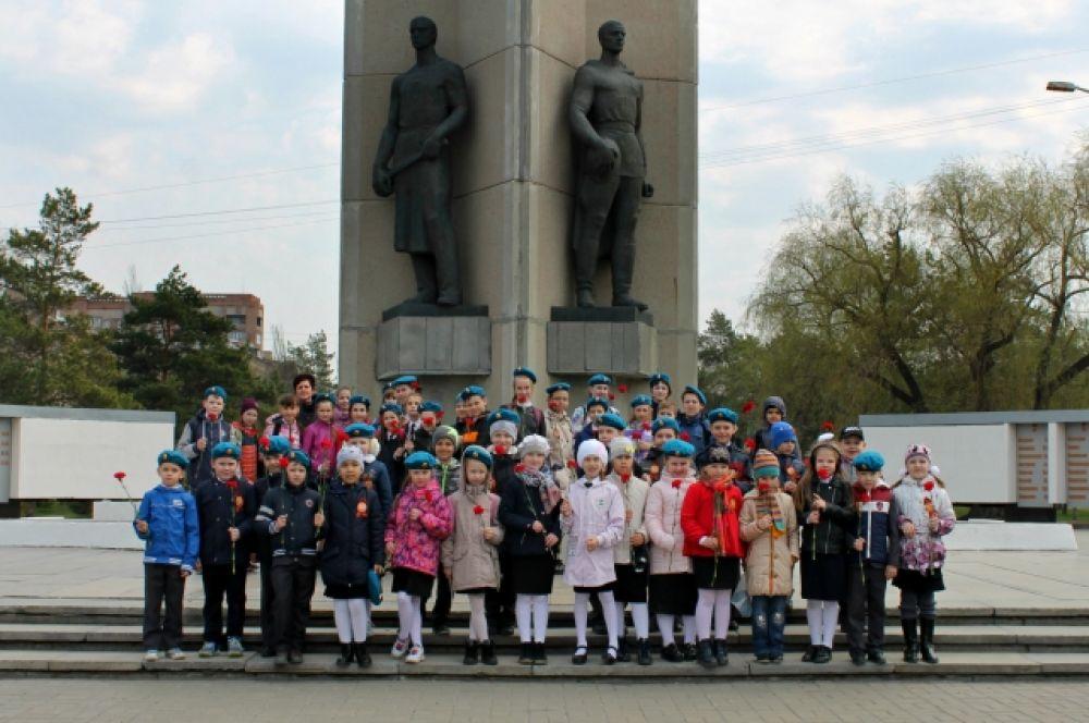 Ученики лицея №92