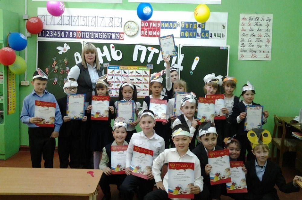 Ученики школы №90