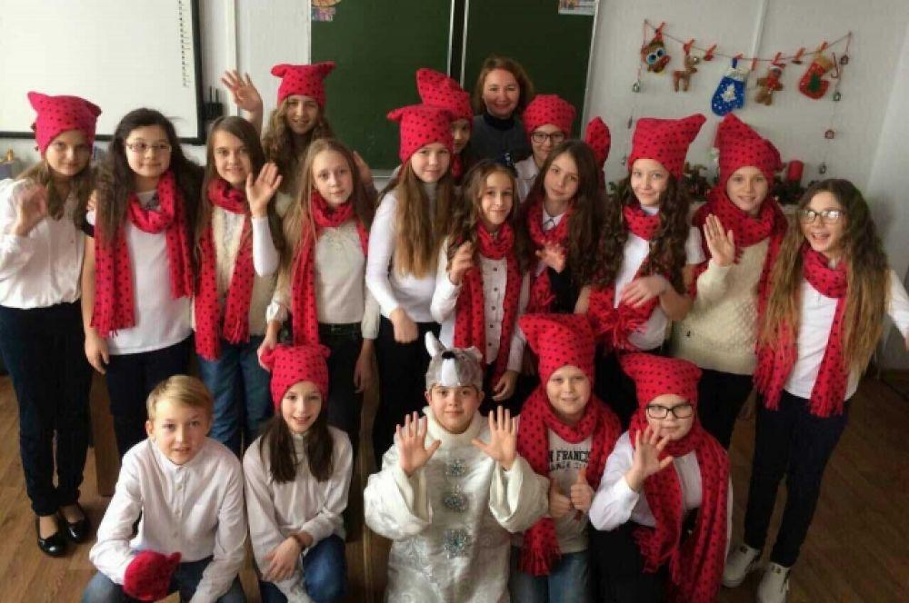 """Гимназия №115, 5 """"Б"""" класс"""