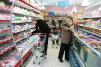 На продукты уходит треть заработанных денег.