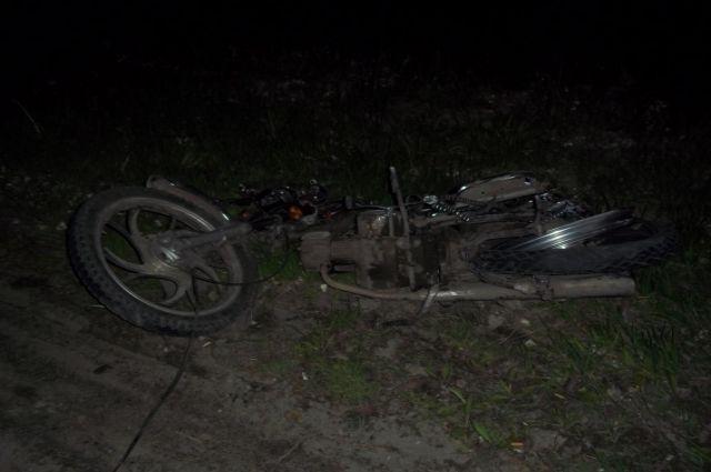 Под Тулой нетрезвый шофёр устроил смертельное ДТП смотоциклом