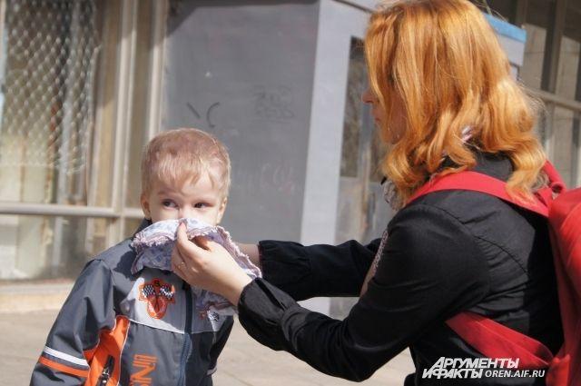 600-800 детей в год обращается в детский аллергоцентр.