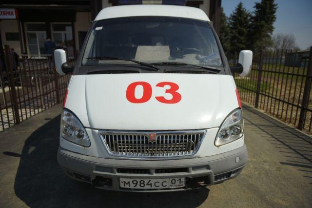 ВОмской области ребенок намопеде врезался в«шестерку» исбил пешехода
