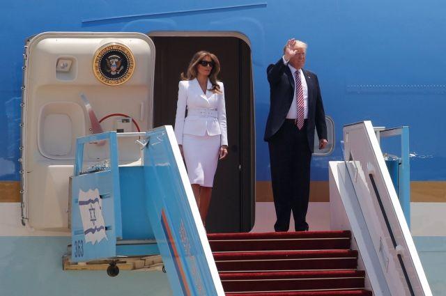 Стала известна цель визитов Трампа вИзраиль иПалестину