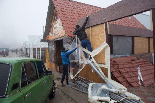 ВКрыму наплато Ай-Петри начался добровольный демонтаж самостроев