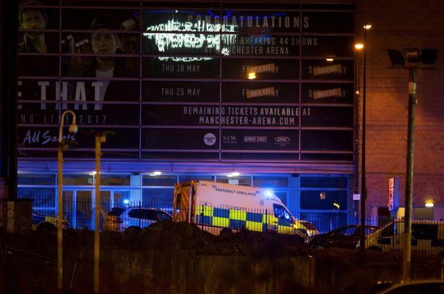 Не менее 20 человек погибли и сотни ранены в инциденте на «Манчестер Арене»