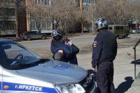 Задержание дебоширов в Иркутске.