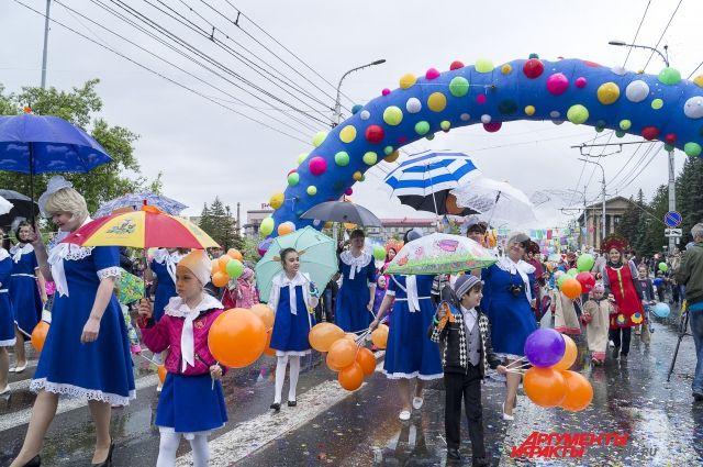 Детский карнавал проходит в Красноярске уже 11 лет подряд.