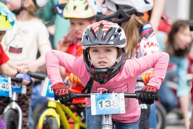 Дети до 16 лет могут принять участие в велопараде в сопровождении взрослых.