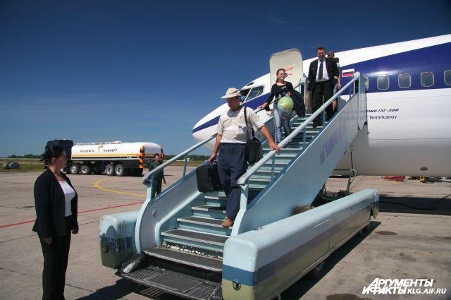 Аэропорт заявляет об увеличении пассажиров, прилетающих в Калининградскую область.
