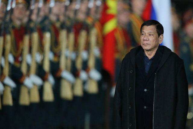 Визит президента Филиппин Родриго Дутерте в Москву