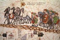 Гравюра «Купцы на Шелковом пути»