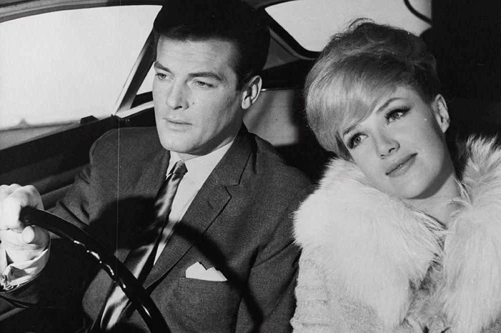 Роджер Мур и Джастин Лорд в фильме «Святой». 1962–1969 годы.