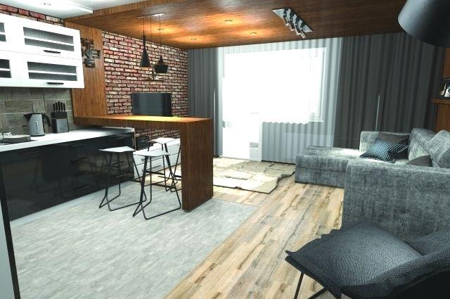 Квартира с европланировкой делает жилплощадь максимально функциональной.