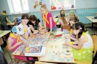 Инклюзивный лагерь - это когда ребёнок в инвалидном кресле участвует во всех мероприятиях среди здоровых ребятишек.