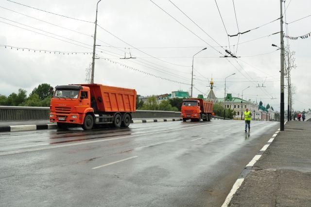 Работы на Юбилейном мосту начнутся в августе.