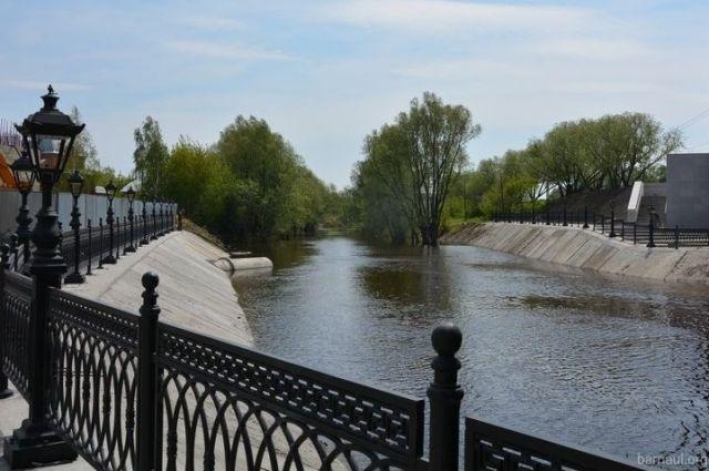Завершены работы поблагоустройству прогулочной зоны напроспекте Ленина вБарнауле