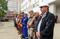 В тройку лучших работников также вошли Александр Ежов и Олег Чумаков.