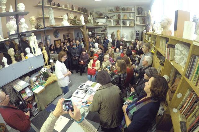 Открытые лекции в стенах «Малковки» ведущих искусствоведов неизменно вызывают огромный интерес.