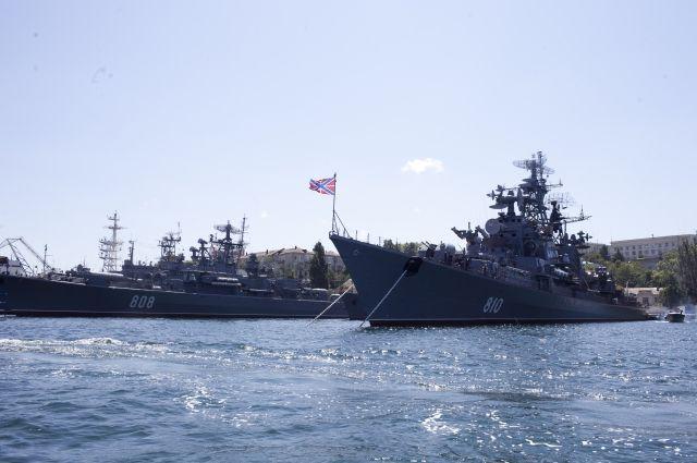 Сделаны войсковые корпуса наСеверном, Балтийском иЧерноморском флотах