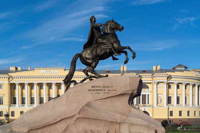 Памятник петру 1 чей заказ изготовление памятников в москва в