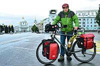 Ханс-Юрген пересёк границы Австрии, Чехии, Польшы, Белоруссии и Украины.