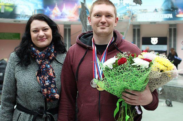 Ямальский спортсмен Павел Морозов.