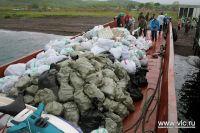 """В сезон волонтёрам """"Острова мечты"""" приходится вывозить мусор с островов целыми баржами."""