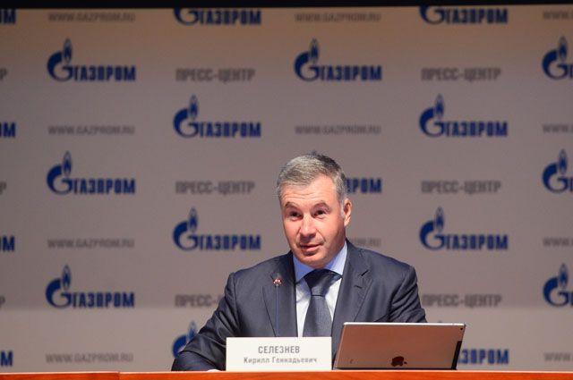 В 2016 году объем реализации природного газа из ресурсов «Газпрома» составил 214,9млрд.м³.