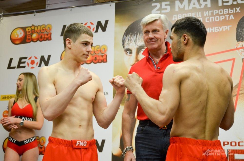 Иван Андрущенко из Молдовы (слева) и Шухрат Хакимов из Таджикистана.