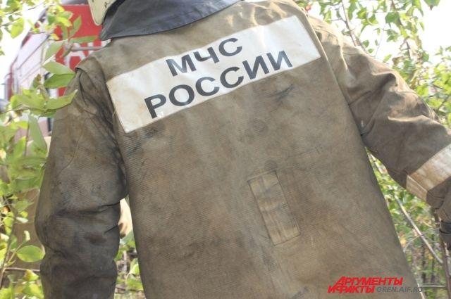 ВАлександровском районе горел ученический автобус