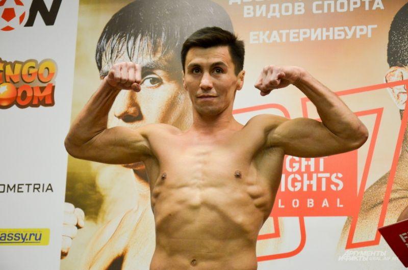 Двукратный чемпион мира по боевому самбо Венер Галиев.
