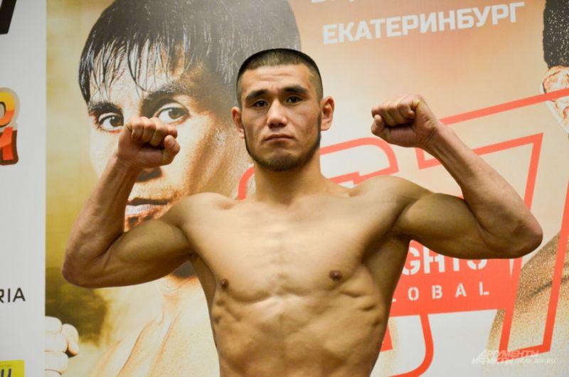 Боец из Кыргызстана Максутбек Балтабаев.