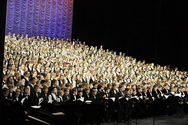 Сводный хор Санкт-Петербурга выступит наДворцовой площади