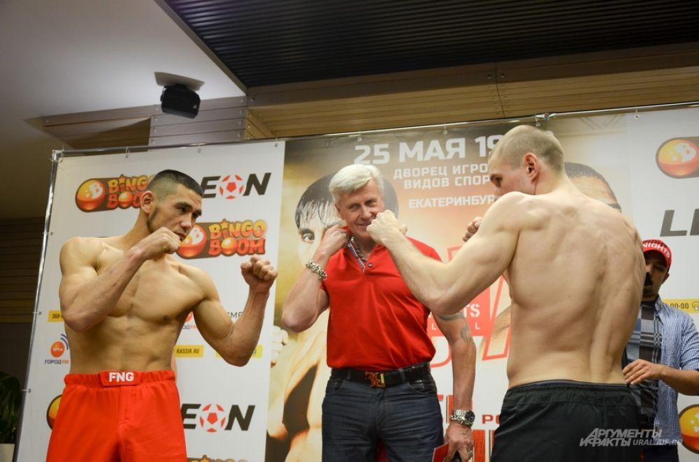 Face to face Максутбека Балтабаева и Даниила Эрлиха.