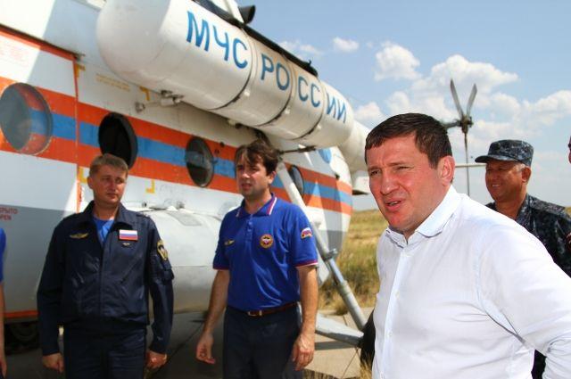 Из Красноярска готовится вылететь Ми-8.